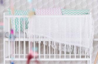 Babybett für Kinder 120x60 cm