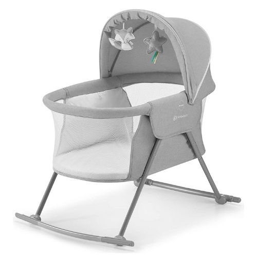 Kinderkraft Kinderbett 3 in 1 LOVI, Kinderreisebett, Stubenwagen, Babywiege